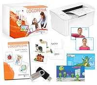 Eduterapeutica Logopedia wersja rozszerzona z drukarką