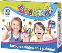 Farby do malowania palcami Astra Creativo 4 kolory 50 ml