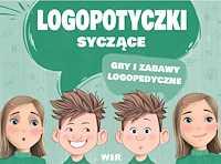 Logopotyczki syczące Gry i zabawy logopedyczne