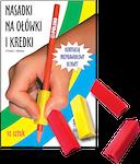 Trójkątne nasadki na ołówki i kredki 10 sztuk