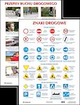 Plansza Znaki drogowe Przepisy ruchu drogowego