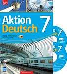Język niemiecki Aktion Deutsch Podręcznik Klasa 7 + 2 CD