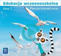 Plansze interaktywne WSiP Edukacja wczesnoszkolna klasa 3