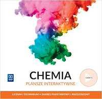 Chemia Plansze interaktywne WSiP Liceum i technikum cz.1 poziom podstawowy i rozszerzony
