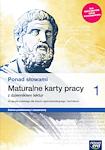 Język polski PP PONAD SŁOWAMI ZPiR RE kl. 1 Maturalne karty pracy