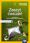 Matematyka SP MATEMATYKA Z KLUCZEM RE ZM kl. 7 Zeszyt ćwiczeń