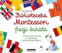 Biblioteczka Montessori Flagi świata