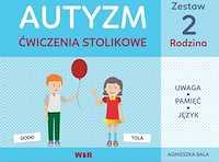 Autyzm Ćwiczenia stolikowe Zestaw 2 Rodzina
