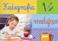 Kaligrafia malejąco Ćwiczenia w pisaniu
